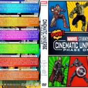 Marvel Studios Cinematic Universe – Phase One (2008-2012) R1 Custom DVD Cover