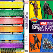 Marvel Studios Cinematic Universe – Phase Two (2013-2015) R1 Custom DVD Cover