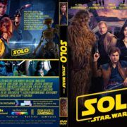 Solo - A Star Wars Story (2018) R1 CUSTOM DVD Cover & Label
