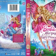 Barbie Mariposa & The Fairy Princess (2013) R1 DVD Cover