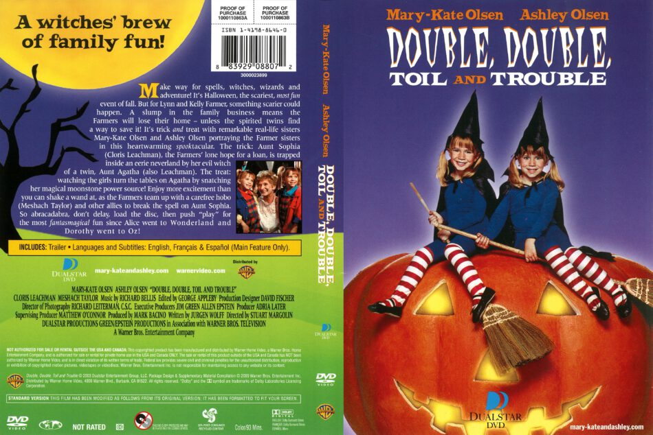 Double Double Toil And Trouble Deutsch
