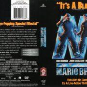 Super Mario Bros. (1993) R1 DVD Cover