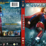 Supergirl Season 2 (2017) R1 DVD Cover