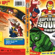 SuperHero Squad Show Volume 2: Quest for the Infinity Sword! (2010) R1 DVD Cover