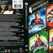Superman 4 Film Collection (2008) R1 DVD Cover