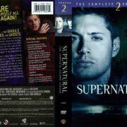Supernatural Season 2 (2007) R1 DVD Cover