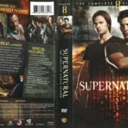 Supernatural Season 8 (2013) R1 DVD Cover