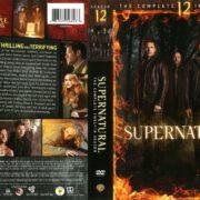 Supernatural Season 12 (2017) R1 DVD Cover