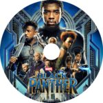 The Black Panther (2018) R0 CUSTOM DVD Labels