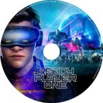Ready Player One (2018) R0 CUSTOM DVD Label