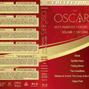 The Oscars: Best Animated Feature Film – Volume 1 (2001-2006) R1 Custom Blu-Ray Cover & Labels