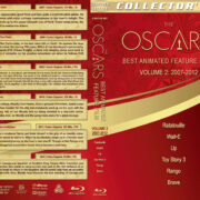 The Oscars: Best Animated Feature Film – Volume 2 (2007-2012) R1 Custom Blu-Ray Cover & Labels