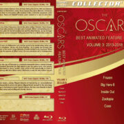 The Oscars: Best Animated Feature Film – Volume 3 (2013-2018) R1 Custom Blu-Ray Cover & Labels