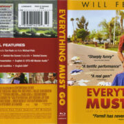 Everything Must Go (2011) R1 Blu-Ray Cover & Label