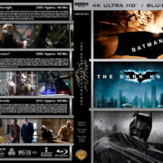 The Dark Knight Trilogy (2005-2012) R1 Custom 4K Cover