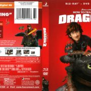 How to Train Your Dragon 2 (2016) R1 Blu-Ray Cover