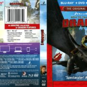 How to Train Your Dragon (2014) R1 Blu-Ray Cover