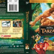 Tarzan (2005) R1 DVD Cover