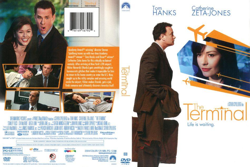 The Terminal 2004 R1 Dvd Cover Dvdcover Com