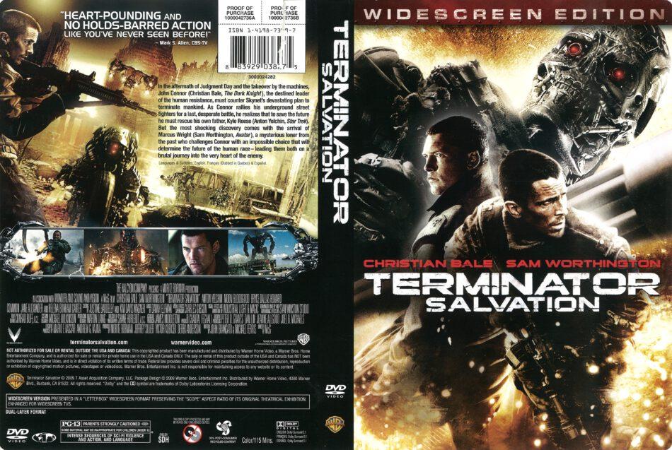 Terminator Salvation 2009 R1 Dvd Cover Dvdcover Com