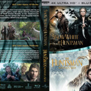 Snow White & the Huntsman / The Huntsman: Winter's War Double Feature (2012-2016) R1 Custom 4K UHD Cover
