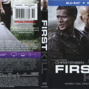First Kill (2017) R1 Blu-Ray Cover & Label