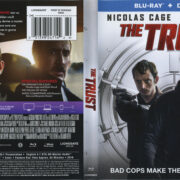 The Trust (2016) R1 Blu-Ray Cover & Label