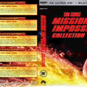Mission Impossible Collection (1996-2015) R1 Custom 4K UHD Cover