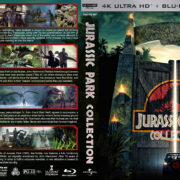 Jurassic Park Collection (1993-2015) R1 Custom 4K UHD Cover