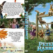 Peter Rabbit (2018) R1 Custom DVD Cover & Label