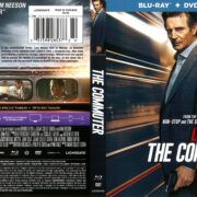 The Commuter (2018) R1 Blu-Ray Cover