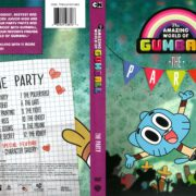 The Amazing World of Gumball: The Party (2012) R1 DVD Cover