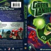 Green Lantern The Animated Series Season 1 Part 1 (2012) R1 DVD Cover