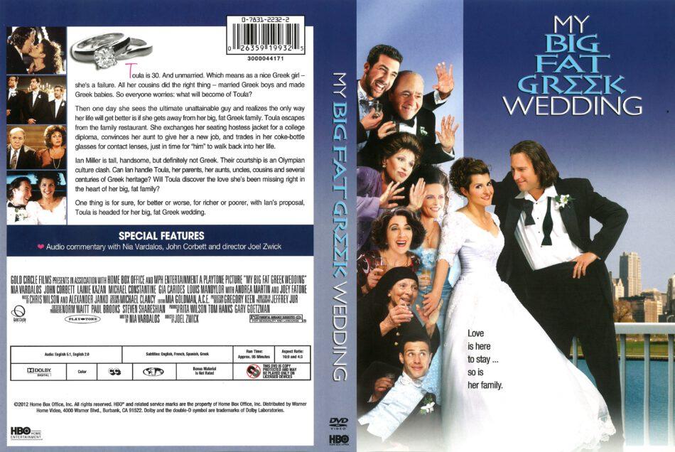My Big Fat Greek Wedding 2012 R1 Dvd Cover Dvdcover Com