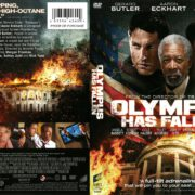 Olympus Has Fallen (2013) R1 DVD Cover