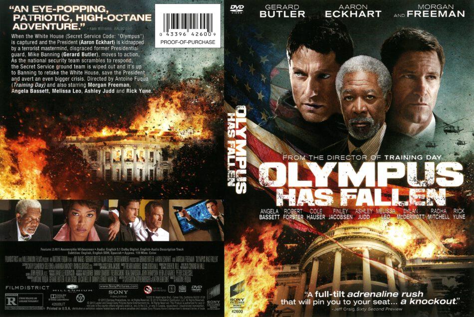 Olympus Has Fallen 2013 R1 Dvd Cover Dvdcover Com