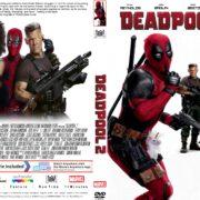 Deadpool 2 (2018) R1 CUSTOM DVD Cover & Label