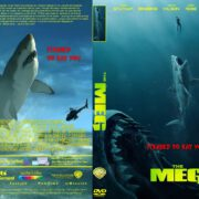 The Meg (2018) R1 CUSTOM DVD Cover & Label