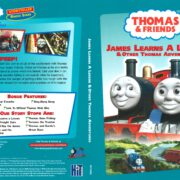 Thomas & Friends: James Learns a Lesson & Other Thomas Adventures (1994) R1 DVD Cover