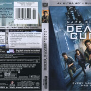 Maze Runner: The Death Cure (2018) R1 UHD 4K Cover & Labels