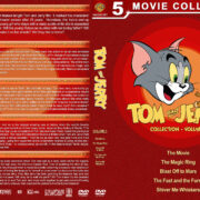 Tom and Jerry Collection – Volume 1 (1992-2006) R1 Custom DVD Cover