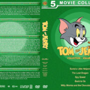 Tom and Jerry Collection – Volume 3 (2014-2017) R1 Custom DVD Cover