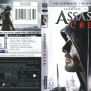Assassin's Creed (2016) R1 UHD 4K Cover & Labels