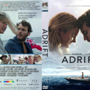 Adrift (2018) R1 CUSTOM DVD Cover & Label