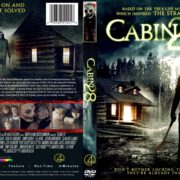 Cabin 28 (2018) R1 CUSTOM DVD Cover & Label