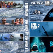 Open Water Triple Feature (2003-2017) R1 Custom DVD Cover