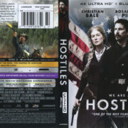 Hostiles (2017) R1 UHD 4K Cover & Labels