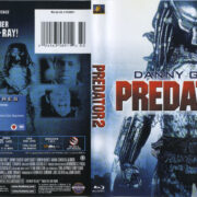 Predator 2 (1990) R1 Blu-Ray Cover & Label