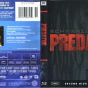 Predator (1987) R1 Blu-Ray Cover & Label