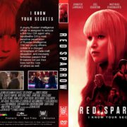 Red Sparrow (2018) R1 CUSTOM DVD Cover & Label